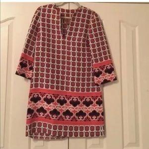 Tory Burch Silk Tunic Dress Size 12